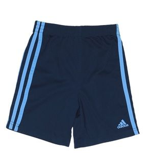 ADIDAS Shorts Navy/Blue Boys Age 7Y